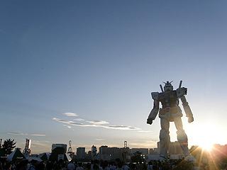 GREEN TOKYO ガンダムプロジェクト_c0025217_16395733.jpg