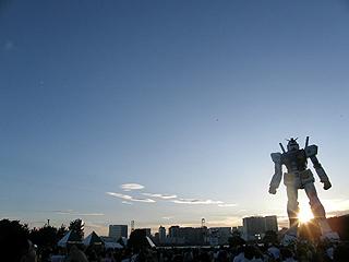 GREEN TOKYO ガンダムプロジェクト_c0025217_16402244.jpg