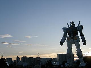 GREEN TOKYO ガンダムプロジェクト_c0025217_16404818.jpg