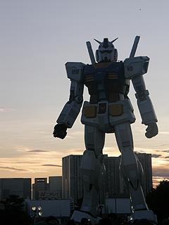 GREEN TOKYO ガンダムプロジェクト_c0025217_16405634.jpg