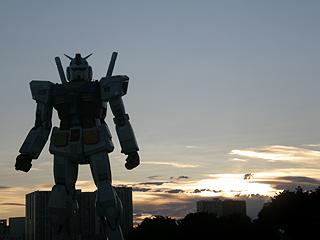 GREEN TOKYO ガンダムプロジェクト_c0025217_16412081.jpg