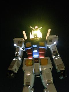 GREEN TOKYO ガンダムプロジェクト_c0025217_16432669.jpg