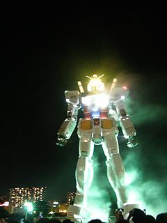 GREEN TOKYO ガンダムプロジェクト_c0025217_16434243.jpg