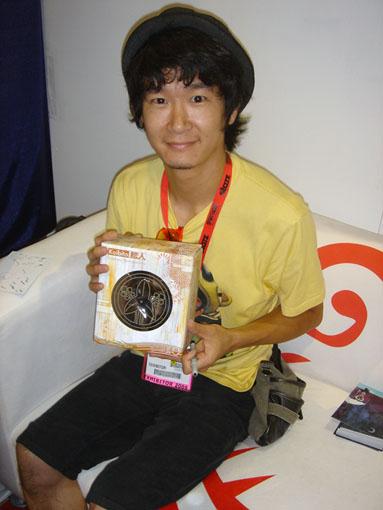 SDCC 2009実況/ヨースケ・ヤマモトの限定30コイビト。_a0077842_22321591.jpg