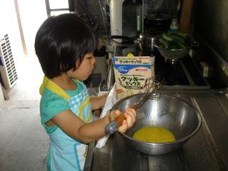 初クッキー作りにトライ!のマコ やっぱりクッキーにはコーヒーよ!_e0166301_231034.jpg