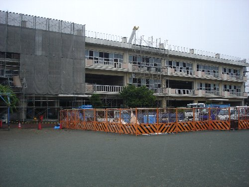 榛沢小学校の大規模改修_c0155211_22133048.jpg