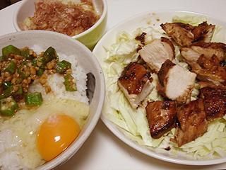 鶏むね肉のやわらか照り焼き_c0025217_16304639.jpg