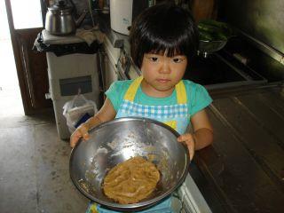 初クッキー作りにトライ!のマコ やっぱりクッキーにはコーヒーよ!_e0166301_0265428.jpg