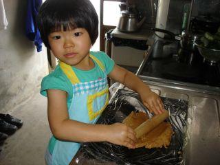 初クッキー作りにトライ!のマコ やっぱりクッキーにはコーヒーよ!_e0166301_0275790.jpg