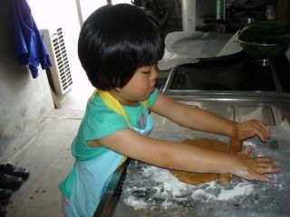 初クッキー作りにトライ!のマコ やっぱりクッキーにはコーヒーよ!_e0166301_0285014.jpg