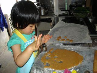 初クッキー作りにトライ!のマコ やっぱりクッキーにはコーヒーよ!_e0166301_029287.jpg