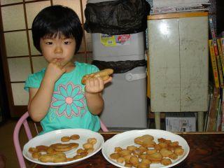 初クッキー作りにトライ!のマコ やっぱりクッキーにはコーヒーよ!_e0166301_0311417.jpg