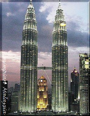 ツイン タワー 傾き マレーシア
