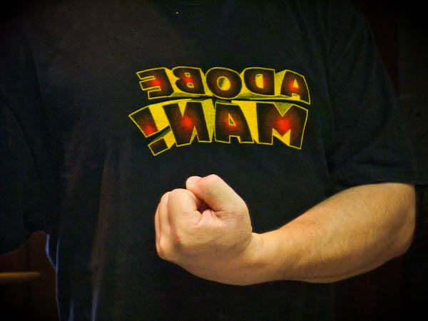 気合いを入れて作業するときに着るTシャツ_f0077521_924106.jpg