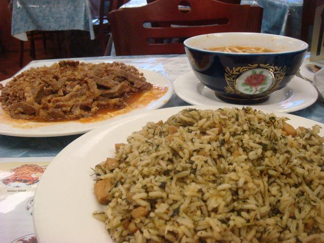 中央アジアにある、ウズベキスタン料理を食べて、_d0100880_11271332.jpg