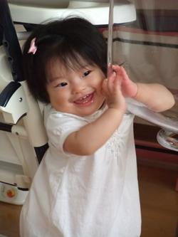 riaちゃん 歯が生えていました!_f0127281_131464.jpg