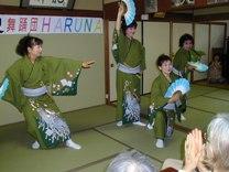 舞踏団HARUNAショー開催!<アクティブライフ中町倶楽部>_c0107602_10113763.jpg