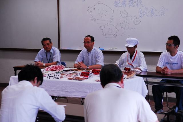 できました! 武雄市特産へ、イノシシ肉加工品_d0047811_22252854.jpg