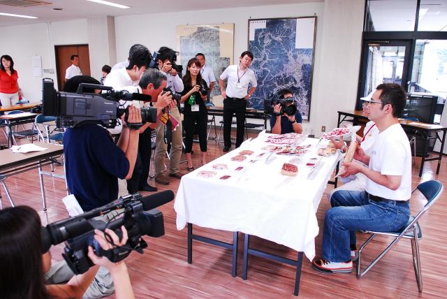 できました! 武雄市特産へ、イノシシ肉加工品_d0047811_22254457.jpg