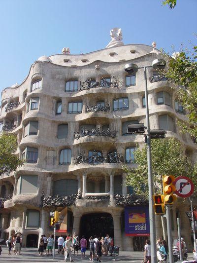 Barcelona, Spain ガウディ篇。_a0012423_23133321.jpg