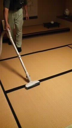 茶立て虫が出たので、畳の熱処理と表のござを裏返し_f0052181_819477.jpg