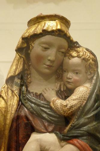 フィエーゾレの聖母子_f0106597_16162790.jpg