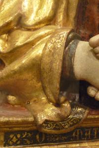 フィエーゾレの聖母子_f0106597_16252467.jpg