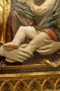 フィエーゾレの聖母子_f0106597_16265568.jpg