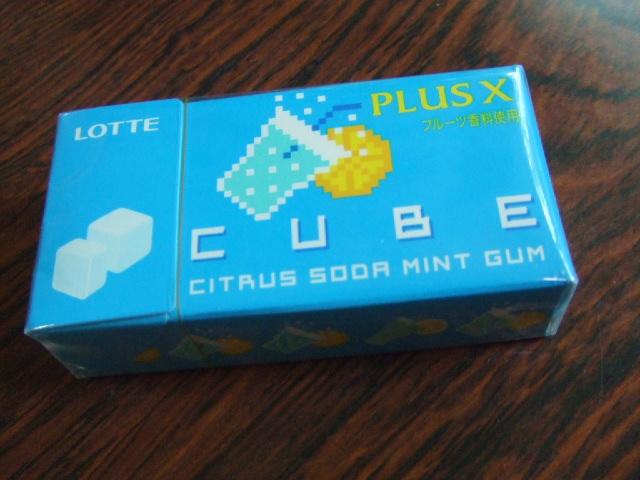 CUBE シトラスソーダミント_f0076001_21422724.jpg
