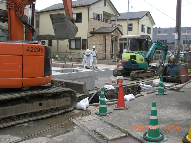 大変な水路工事_e0150006_20575836.jpg