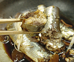 Vol.56 - イワシの煮物 ~IH DE 圧力鍋 Take.3~_a0106683_14504242.jpg