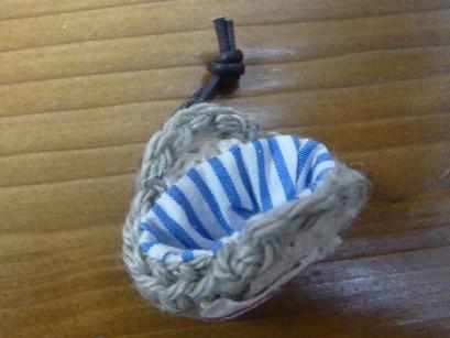ミニ編みカゴ