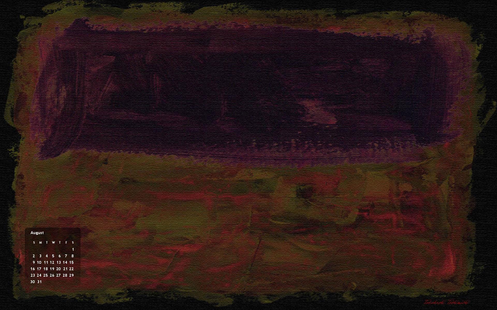 1981 マーク ロスコに 四匹の蟻 壁紙 Wide特大 1920 1200