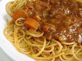 カレースパゲティ_c0025217_1122651.jpg
