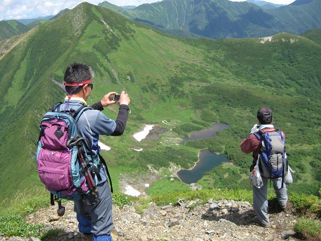 7月31日、日帰りで幌尻岳と戸蔦別岳-写真編-_f0138096_20323535.jpg