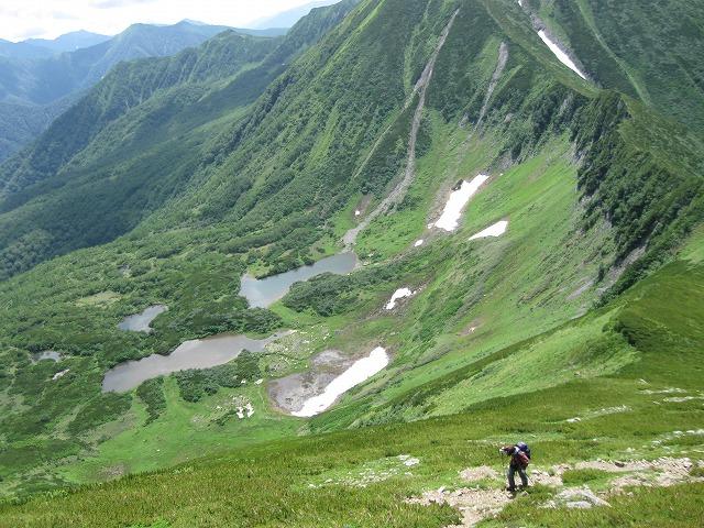 7月31日、日帰りで幌尻岳と戸蔦別岳-写真編-_f0138096_20372060.jpg