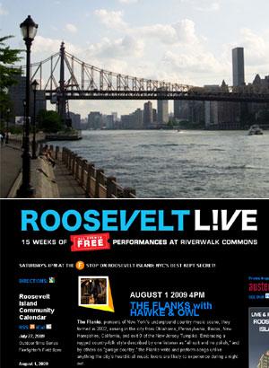 ルーズベルト島の無料野外イベント ROOSEVELT L!VE_b0007805_832396.jpg