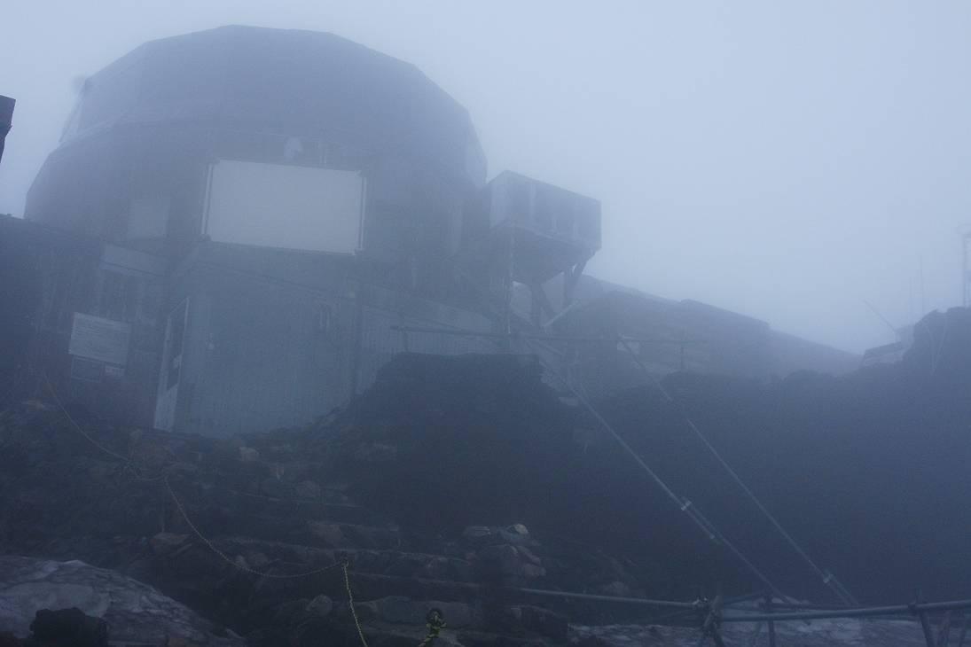 深田久弥氏選 日本100名山登山エピーログ             富士山剣が峰(3,776m)登頂_d0106628_111535.jpg