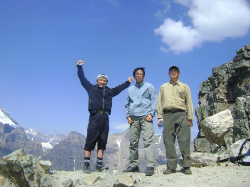 夏のラーチバレー 4menハイキング_d0112928_1145488.jpg