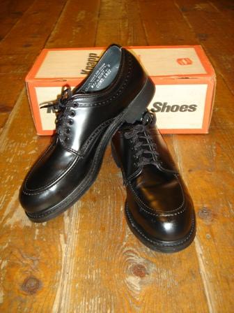 NEU - Vintage KNAPP Shoe Co. Full Brogue Derby (Budapester), Cir