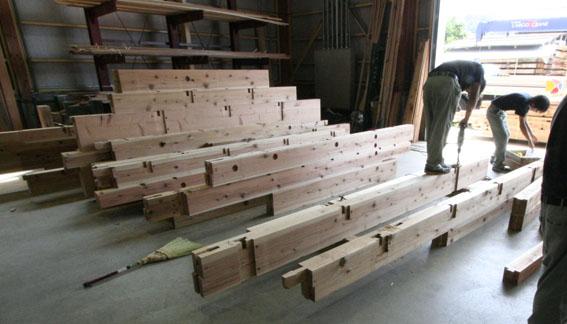 緑の森 木材工場(重川材木店) 2_e0054299_23442044.jpg