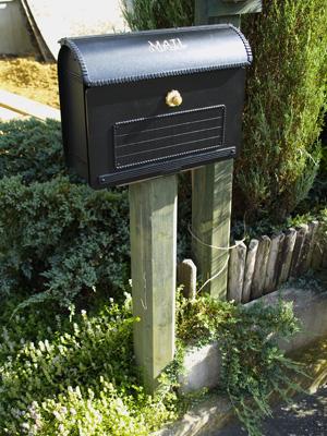 郵便ポストを新しくした_f0047524_22301058.jpg