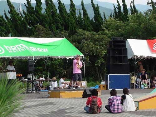 行ってきました。五色姫浜海水浴&SKATEFESTA2009_b0132530_2013728.jpg