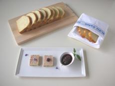 Brioche Vanille avec Terrine de foie gras   ヴァニラのブリオッシュ_f0121752_12402741.jpg