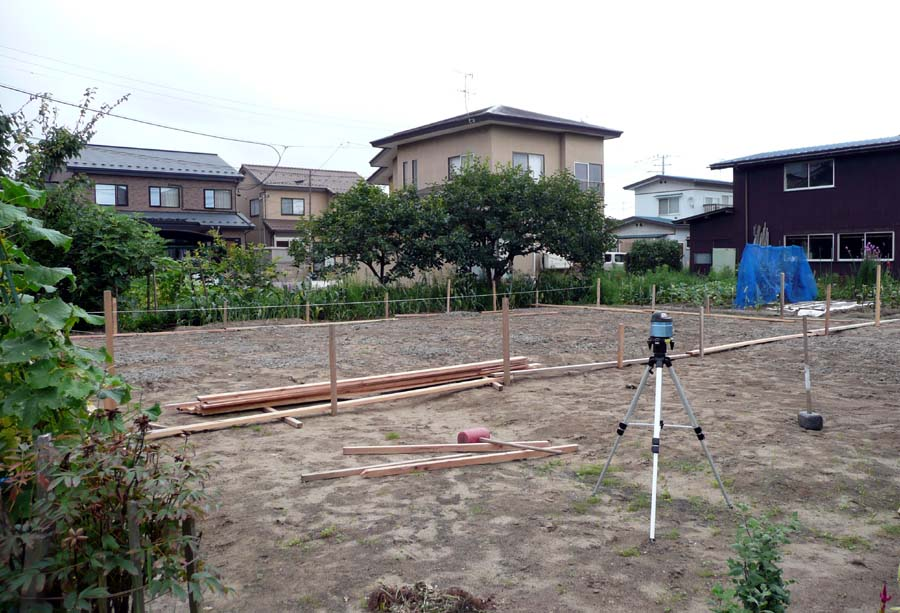 S邸「仁井田二ツ屋の家」 着工!_f0150893_1765294.jpg
