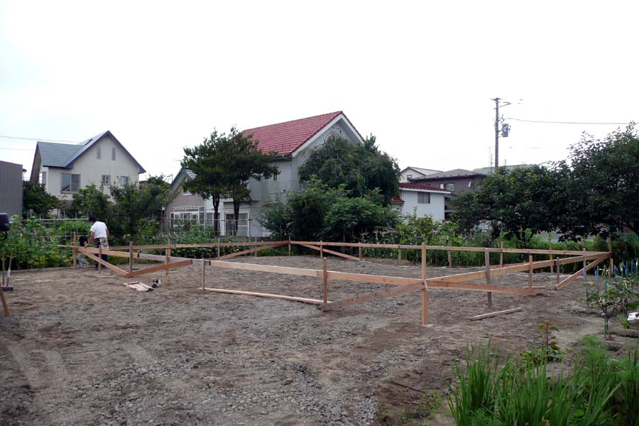 S邸「仁井田二ツ屋の家」 着工!_f0150893_1794034.jpg