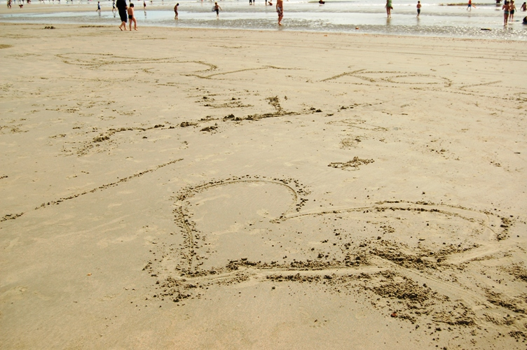 ビーチでハッピータイム☆_d0104926_5351093.jpg