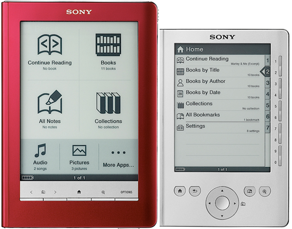 SONYの電子ブックリーダー。_b0028732_1351064.jpg