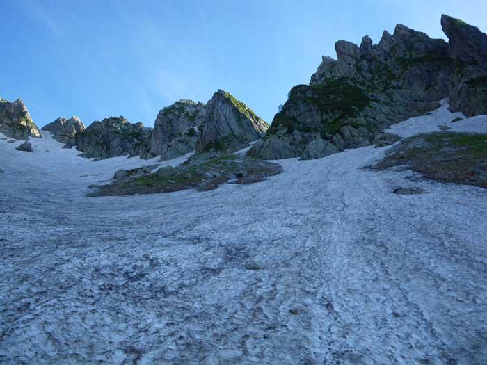 梅雨のすきまを狙って剣岳へ。_e0189446_1959581.jpg