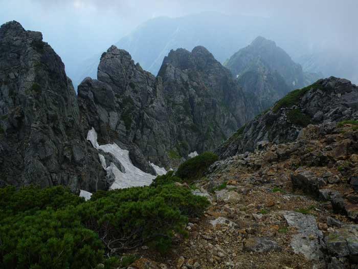 梅雨のすきまを狙って剣岳へ。_e0189446_202374.jpg